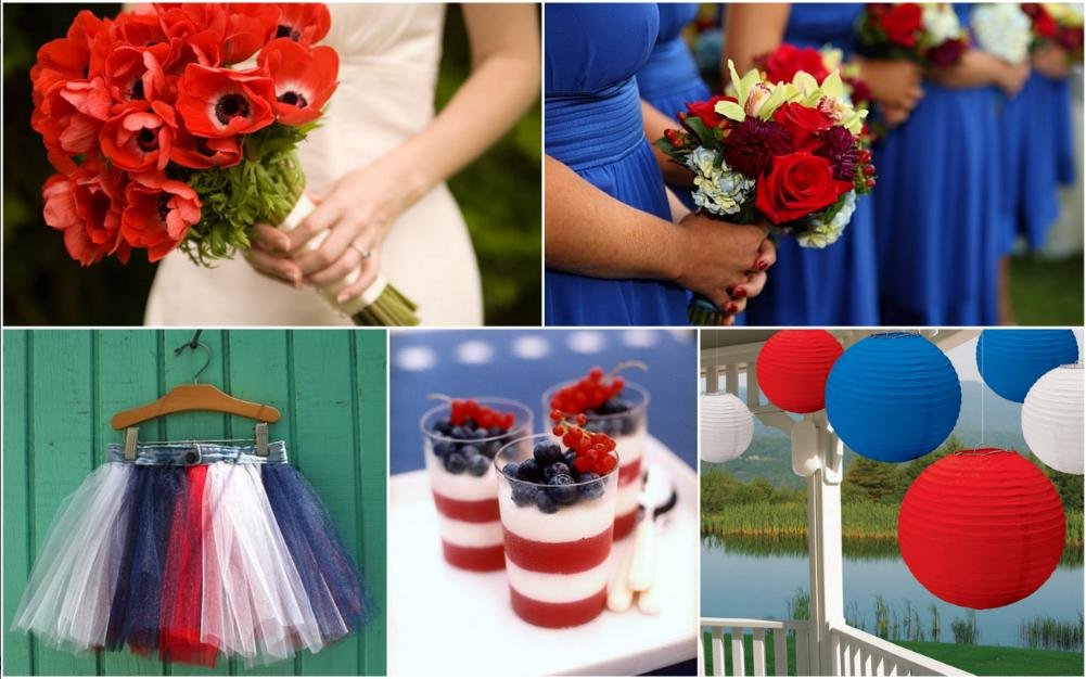 Red And Blue Wedding Ideas | Wedding Tips and Inspiration