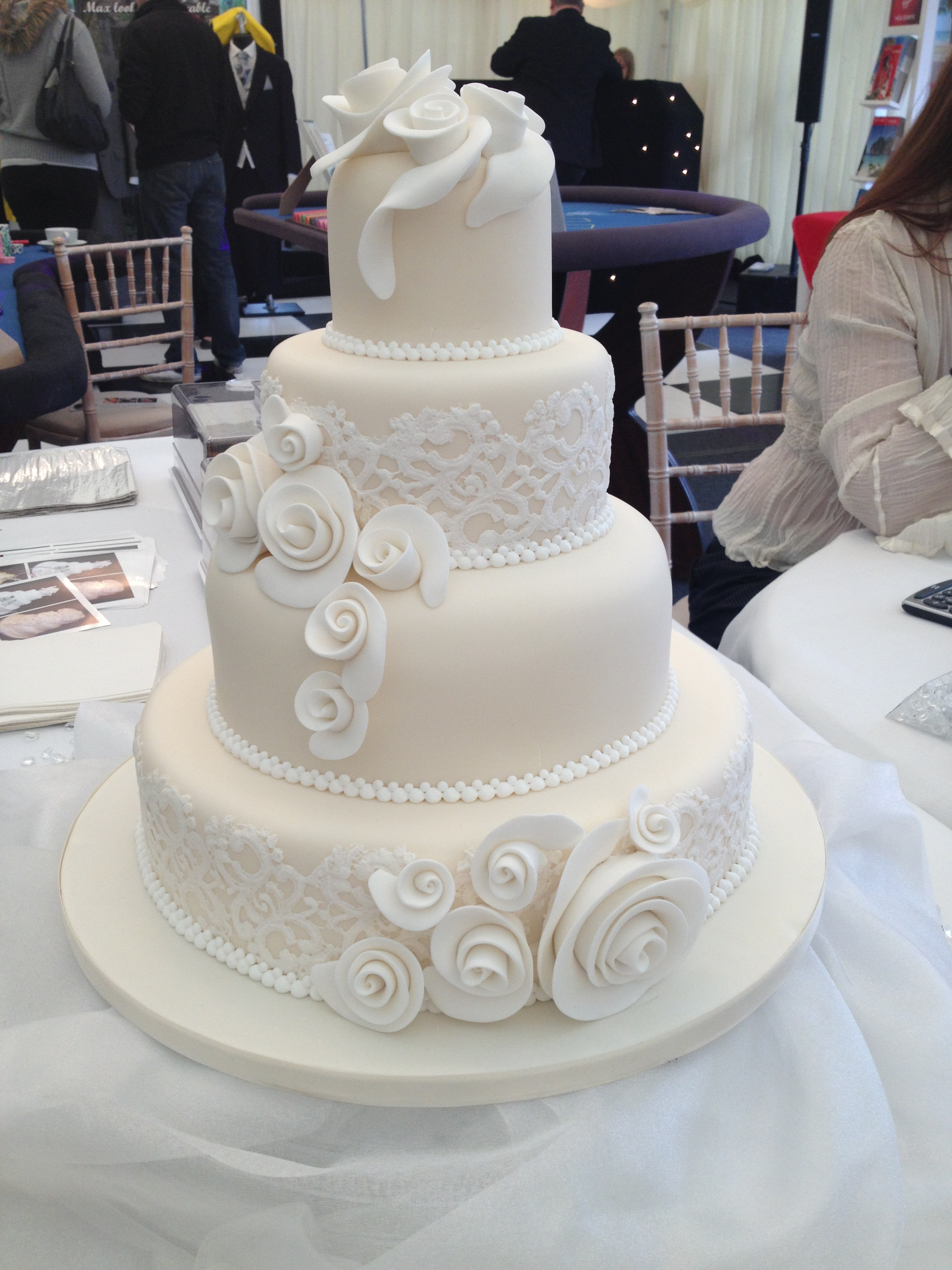 Wedding Cakes in Surrey « Harlequin Fun Casino Hire